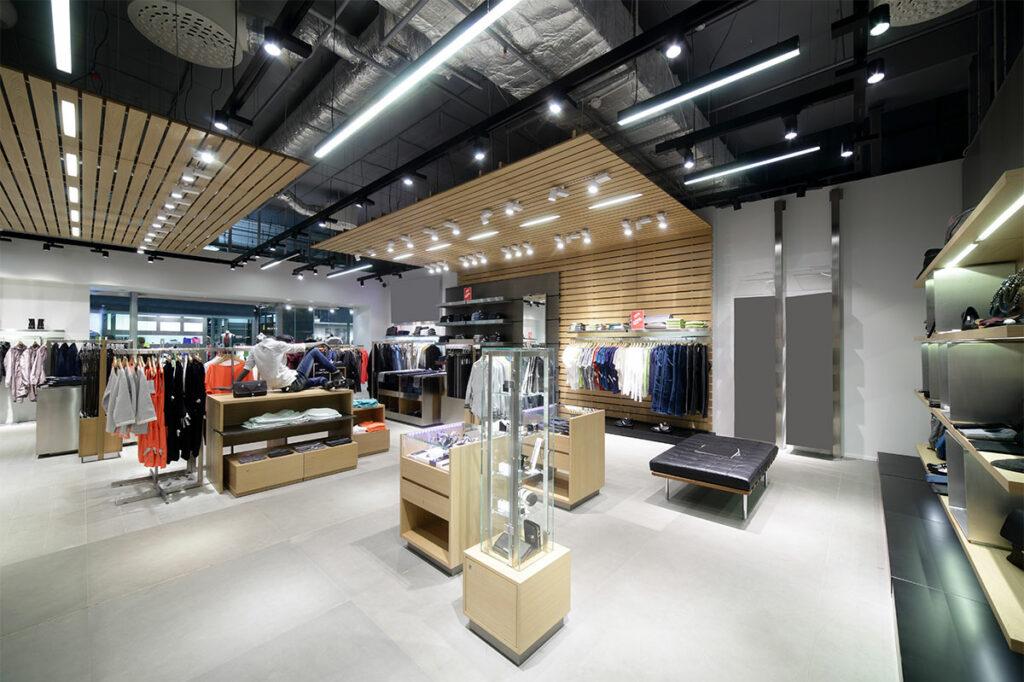 Schlüsselfertiger Innenausbau, Ladenausbau & Ladeneinrichtung